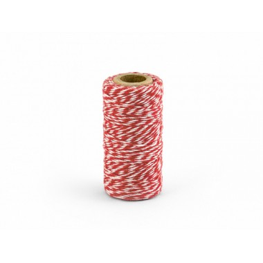 Dekoratyvinė virvelė (raudona)