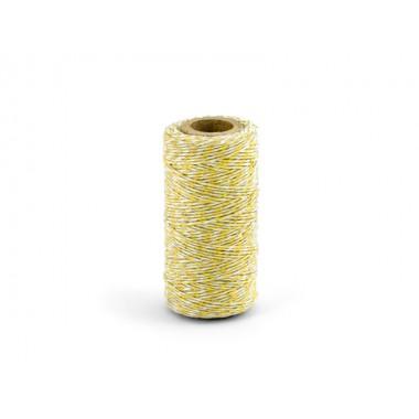 Dekoratyvinė virvelė (geltona)