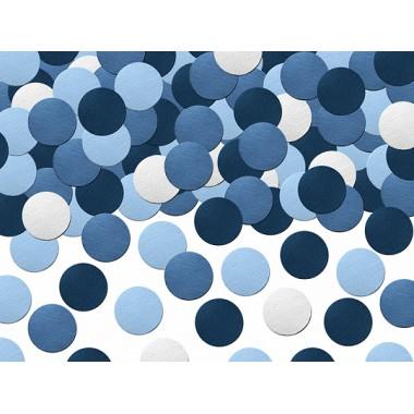 Konfeti (mėlynos spalvos)